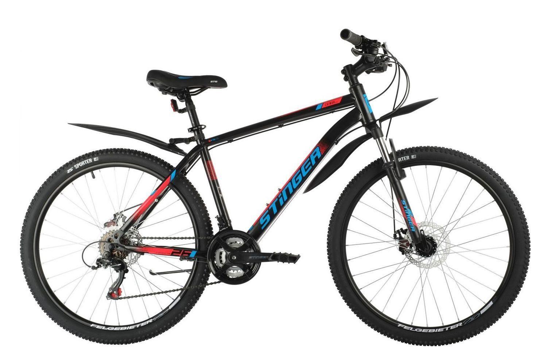 """Велосипед Stinger 27.5"""" CAIMAN D, сталь"""