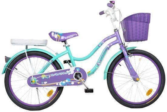 """Велосипед 20"""" LULU + корзина, подножка"""