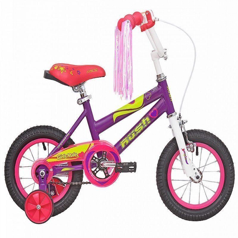 """Велосипед 18"""" RUSH HOUR GIRL RULS"""
