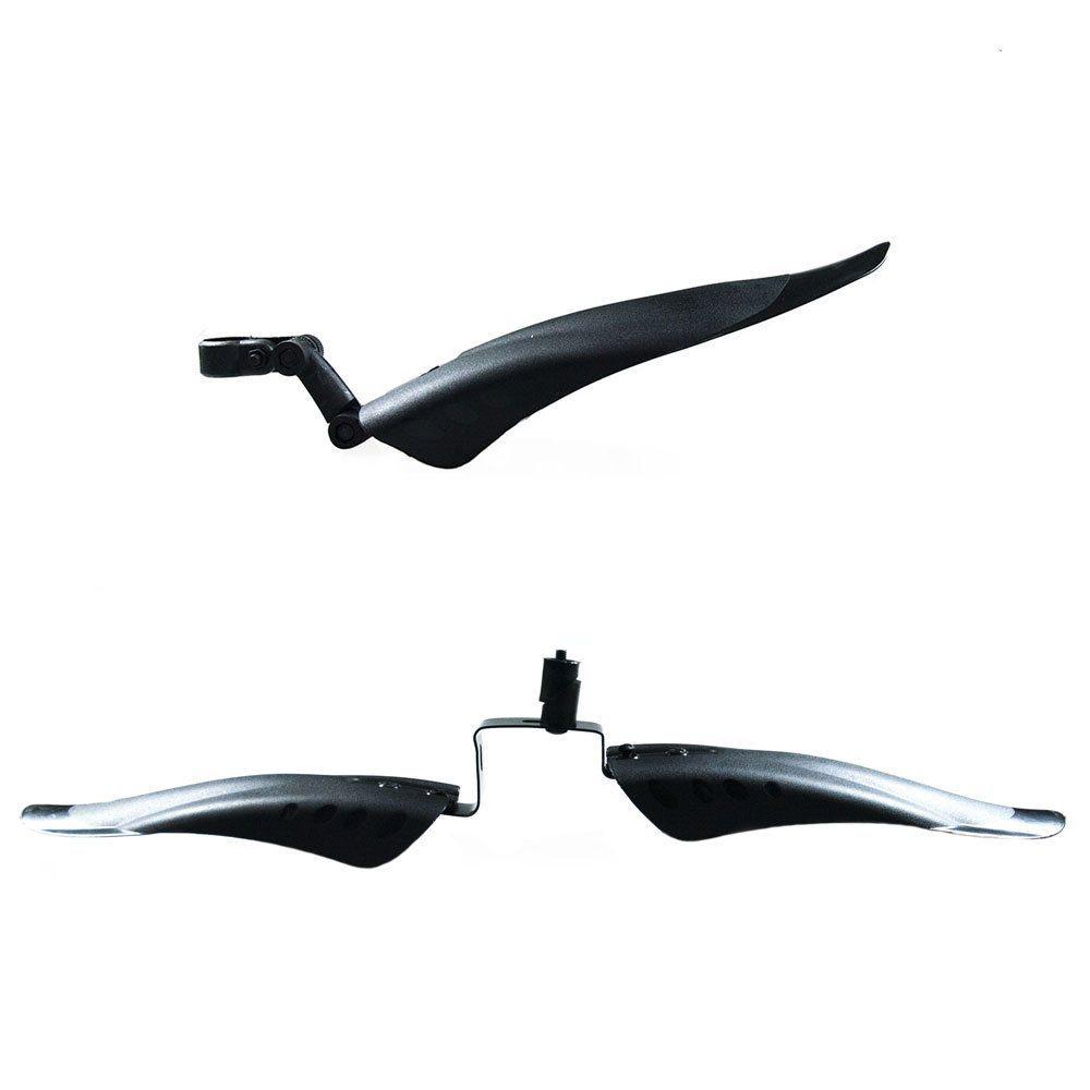 """Крылья пластик 20"""" черные из трех частей 3112616-6 комплект"""