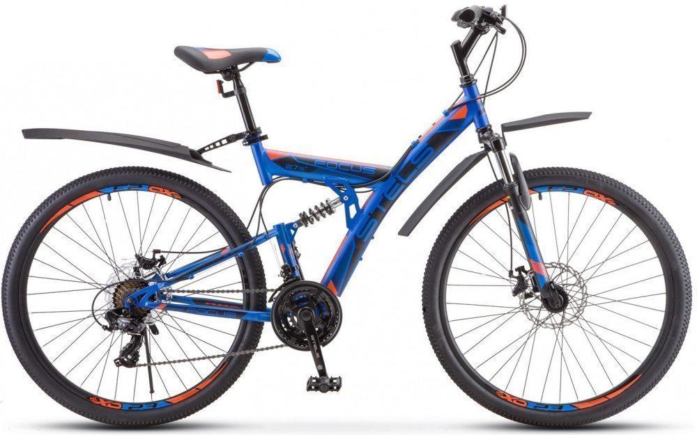 """Горный велосипед STELS Focus MD 27,5"""" 21 V010(с крыльями) (2020)"""