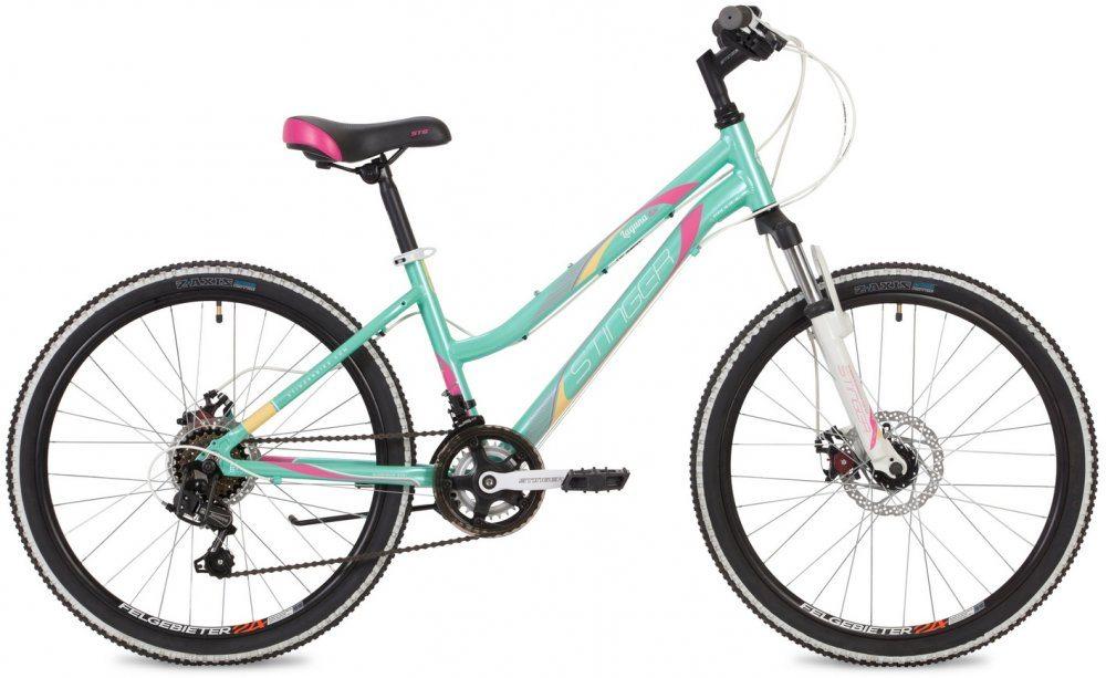 """Подростковый Велосипед Stinger 24"""" Laguna D 2019"""