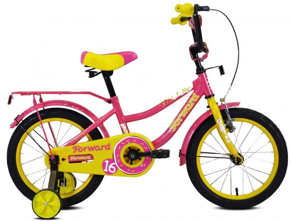 Детский велосипед Forward FUNKY 16 (2019-2020)