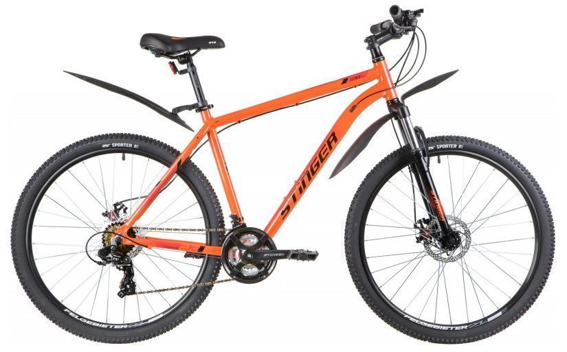 "Горный велосипед Stinger 27.5"" ELEMENT EVO 2020"