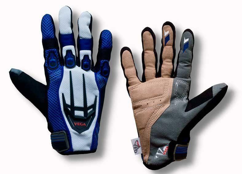 Перчатки VEGA NM-825 синие L (пара)