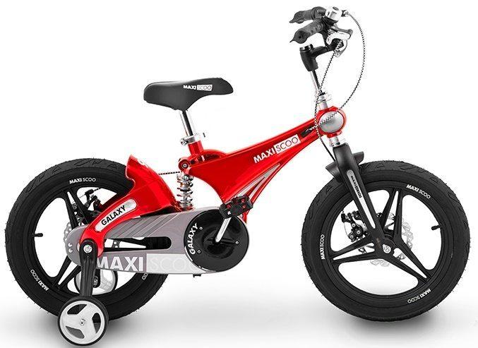 """Детский 2- колесный велосипед Maxiscoo Galaxy Делюкс, 16"""" (2020)"""