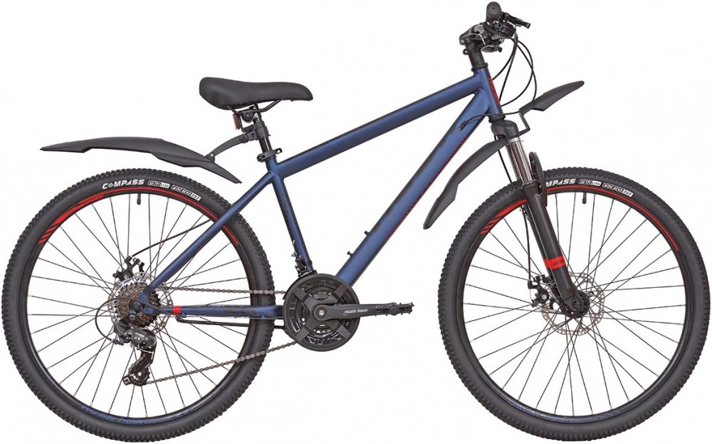 "Велосипед 26"" 21ск RUSH HOUR NX 615 DISC ST"