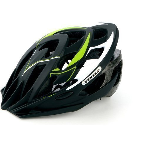 Шлем VENZO VZ-F26M-010, MTB, зеленый, L(57-60), 240гр