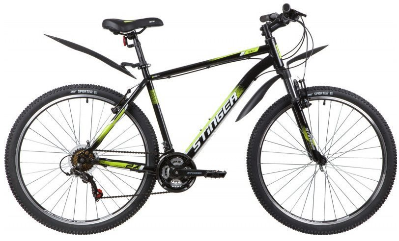 """Горный  велосипед Stinger 27.5"""" Caiman 2020"""