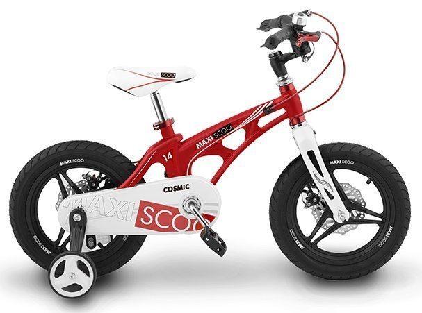 """Детский 2- колесный велосипед Maxiscoo Cosmic Делюкс, 14"""" (2020)"""